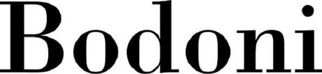 Font chữ Bodoni